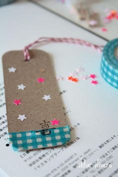 Washi Tape Cards / Tarjetas Washi Tape Tag