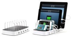 CES 2013: Griffin PowerDock 5 Charges and Organizes Up to 5 iOS Devices - Mac Rumors