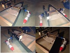 canoe #outrigger diy using PVC pipe and lobster trap floation
