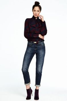 Women's+Bow+Tie+Blouse+from+Lands'+End