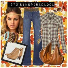 1970's INSPIRED FASHION | 1970's Inspired Look