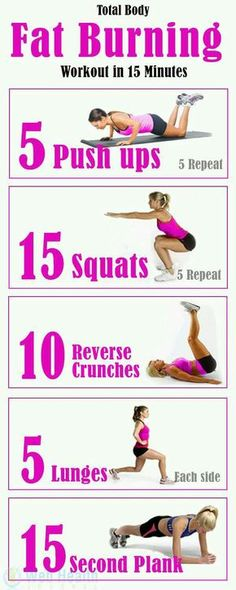 15 Minutes Fat Burning Effective Steps For Better Healthy You
