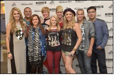 Colton Dixon shows off the new American Idol clothing line at Kohls Colton Dixon, Textile News, Star Wars, Icon Collection, Family Events, Bridesmaid Dresses, Wedding Dresses, American Idol, Celebs