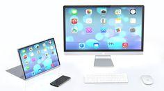 iMac iPad Pro Concept Design