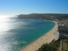 Sesimbra Beach - Sesimbra is one of the places where Azeitao Cheese is produced