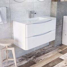 Proudly Brought to you by Drench. Free Delivery Over Finance Available* Free Design Service Sink Units, Vanity Units, Wall Mounted Vanity, Light Oak, Basin, Service Design, The Unit, Bathroom, Clarity
