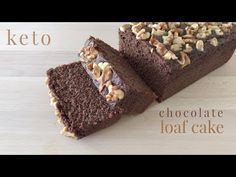 Keto Chocolate Loaf Cake - YouTube