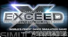 Pump it up Exceed 2004 Huge Waves, Bamboo Blinds, Pump It Up, Simulation Games, 3d Animation, Exceed, Pumps, Dance, Let It Be