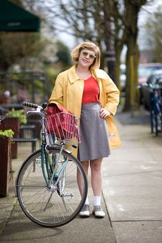 Bobby Socks And Saddle Shoes Complete A Great Retro Look Portland Street Style