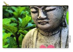 Buddha Love Carry-All Pouch by Colleen Proppe. They're availabe in sizes from x up to x Each pouch is printed on both sides (same image). Pink Chalk, Red Art, Stone Sculpture, Drawing Tools, Basic Colors, Poplin Fabric, How To Be Outgoing, Color Show, Heavy Metal