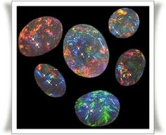 The World's 10 most expensive stones  9. BLACK OPAL USD 2,355 per carat