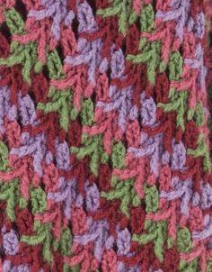 Chal Detalle Puntas de Flecha Patron - Patrones Crochet