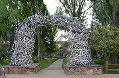 """Antler Arch in Jackson Hole, WyomingJackson Hole, Wyoming: My """"work-given"""" bachelorette trip in INCREDIBLE! The Places Youll Go, Places Ive Been, Places To Go, Yellowstone National Park, National Parks, Wyoming Vacation, Jackson Hole Wyoming, Utah, Future Travel"""