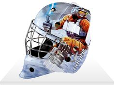 luke skywalker hockey mask Star Wars Hockey Goalie Masks by Bauer