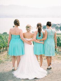 Wedding Film, Bridesmaid Dresses, Wedding Dresses, Banff, Film Photography, Strapless Dress, Fine Art, Fashion, Bridesmade Dresses