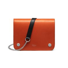 Mulberry - Clifton in Bright Orange Smooth Calf This is my dream bag!