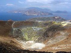 Vulcano Sicilia Italia