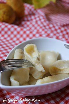Niezły Młynek : Pierogi z gorgonzolą i gruszką