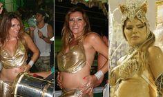 Relembre grávidas que desfilaram no Carnaval brasileiro - Band Folia 2016 - Band.com.br