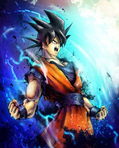 Goku by VVernacatola