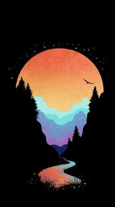 Simple Art, Cute Wallpapers, Celestial, Creative, Outdoor, Outdoors, Pretty Phone Backgrounds, Outdoor Games, The Great Outdoors