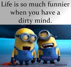 Funny #Minions Joke About Dirty Mind