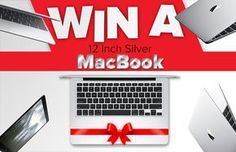 Win a 12-inch Silver MacBook. Thanks to @Awesomegiveawayz and @appzthatrock: Enter Here Now Mark Beniston MacBook by us