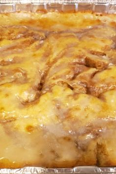 """Cinnabon® Cinnamon Roll Cake 