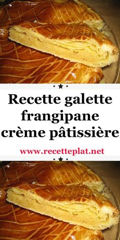 Frangipane cake with pastry cream - Karlan Caulket Frangipane Creme Patissiere, Delicious Desserts, Yummy Food, Creative Cakes, Mini Cakes, Cooking Time, Sweet Recipes, Food And Drink, Dessert