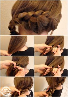 ver the past few months, my daughter has requested one hairstyle more than any other hairstyles--the Elsa braid.