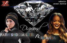 Fatin Shidqia ( X Factor Indonesia ) ft. Rihanna  - Diamonds (Merging 2 ...