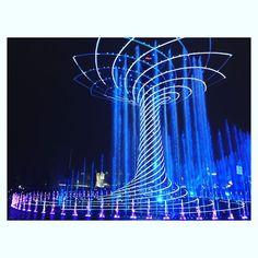 Adesso mi manchi solo dall' alto ... #violet and #blue  La mia #terza volta in #expo ... #alberodellavita #treeoflife #expo2015 #expomilano2015 #milanodavedere #milanocityufficiale #emotions #myexpo2015 #myexpo #igerslombardia #nonmistancomai  by martaarcari