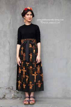Batik Kebaya, Kebaya Dress, Batik Dress, Model Dress Batik, Rok Batik Modern, Dress Batik Kombinasi, Tulle Skirt Tutorial, Ikkat Dresses, Amarillis