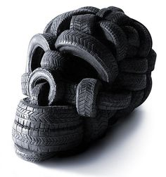 so we saw some strange tire creations.. they hold down roofs apparently really well, they make good fence posts, good barbed wire too. good plant holders, good to randomly place in fields, tires were everywhere out there lol