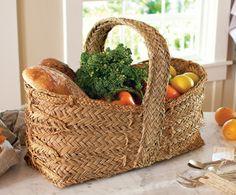 Esparto Market Basket