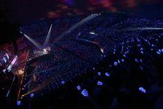 SUPER JUNIOR DONGHAE & EUNHYUK「SUPER JUNIOR D&E THE 1st JAPAN TOUR 2014」日本武道館公演の様子。