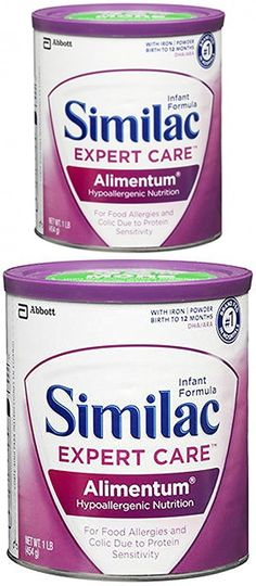16 OZ, Alimentum Hypoallergenic Nutrition Baby Formula, Powder with Iron, 1 Pound