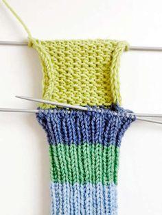 Villasukan kantapää – kolme ohjetta - Yhteishyvä Knitting Stitches, Knitting Socks, Drops Design, Handicraft, Fingerless Gloves, Arm Warmers, Lana, Crochet Top, Upcycle