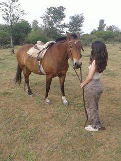 Caballo horses campo country girl