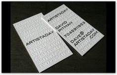 Business card professionali dalla grafica minimale e accattivante