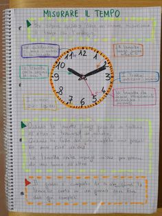 Second lesson- Storia classe terza. Second lesson - History Class, Bullet Journal, Science, School, Clock Ideas, Quotes, Third, Watches, Children