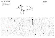 The sheep market - Aaron Koblin.