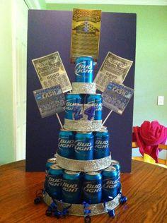 Bud Light Beer Cake!!