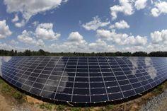 Nice reflective image captured of clouds in solar panels:  http://media.lehighvalleylive.com/nazareth_impact/photo/solar-panels-bbf80b9bce0b4786.jpg
