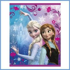 Hand out Frozen Favor Bags filled with super-cool party favors! These colorful printed plastic loot bags feature the beautiful sisters, Anna and Elsa, and have cutout handles. Package contains 8 quantity of x inch plastic Disney Frozen Treat Bags. Frozen Disney, Disney Frozen Treats, Frozen Elsa And Anna, Elsa Anna, Frozen Frozen, Frozen Birthday Party Supplies, Birthday Party Favors, Elsa Birthday, Moana Birthday