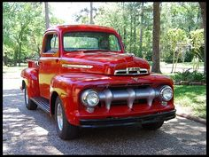 1951 Ford Pickup at Mecum Auctions Classic Ford Trucks, Farm Trucks, Ford Pickup Trucks, New Trucks, Trucks For Sale, Classic Cars, Toyota Trucks, 1951 Ford Truck, Old Fords