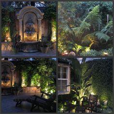 Backyard ideas- water fountain