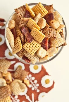 Bacon Chex Mix