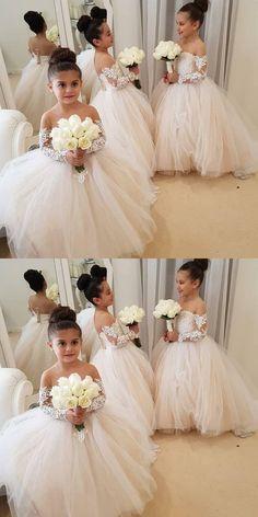 ac8541faaa87 Adorable Flower Girl Dresses For Weddings