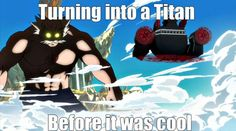 8 Funny Fairy Tail Memes: Attack on Titan versus Fairy Tail Meme http://anime.about.com/od/toppicks/ss/8-Funny-Fairy-Tail-Anime-Memes.htm